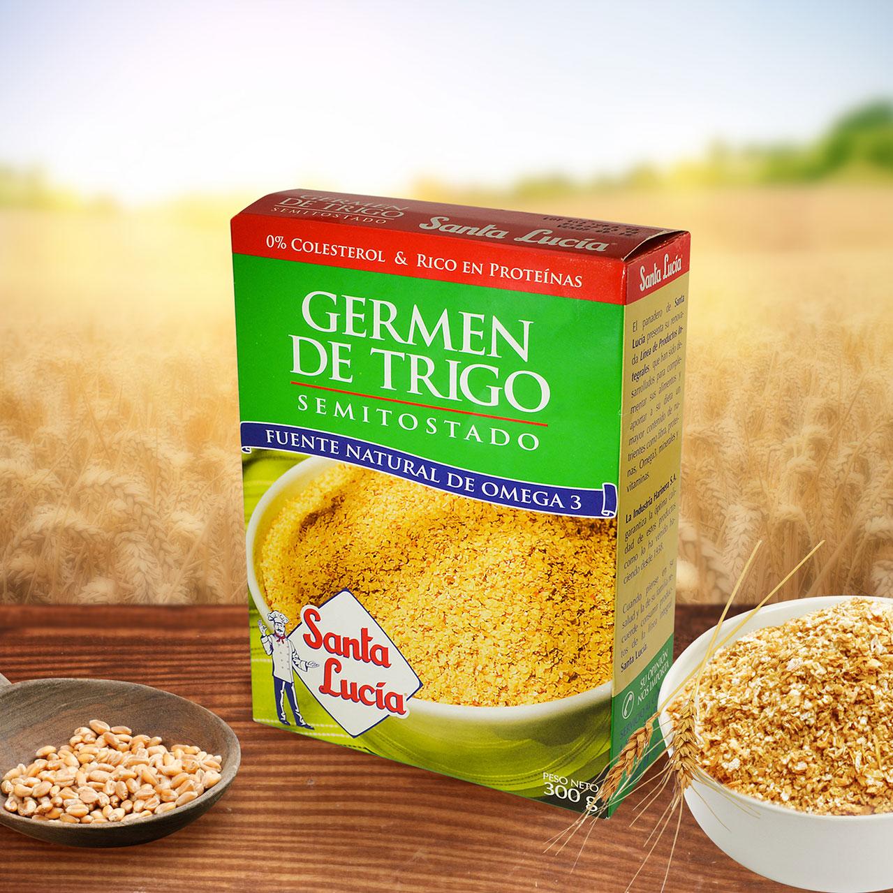 Germen de trigo semitostado - Harina integral de trigo ...